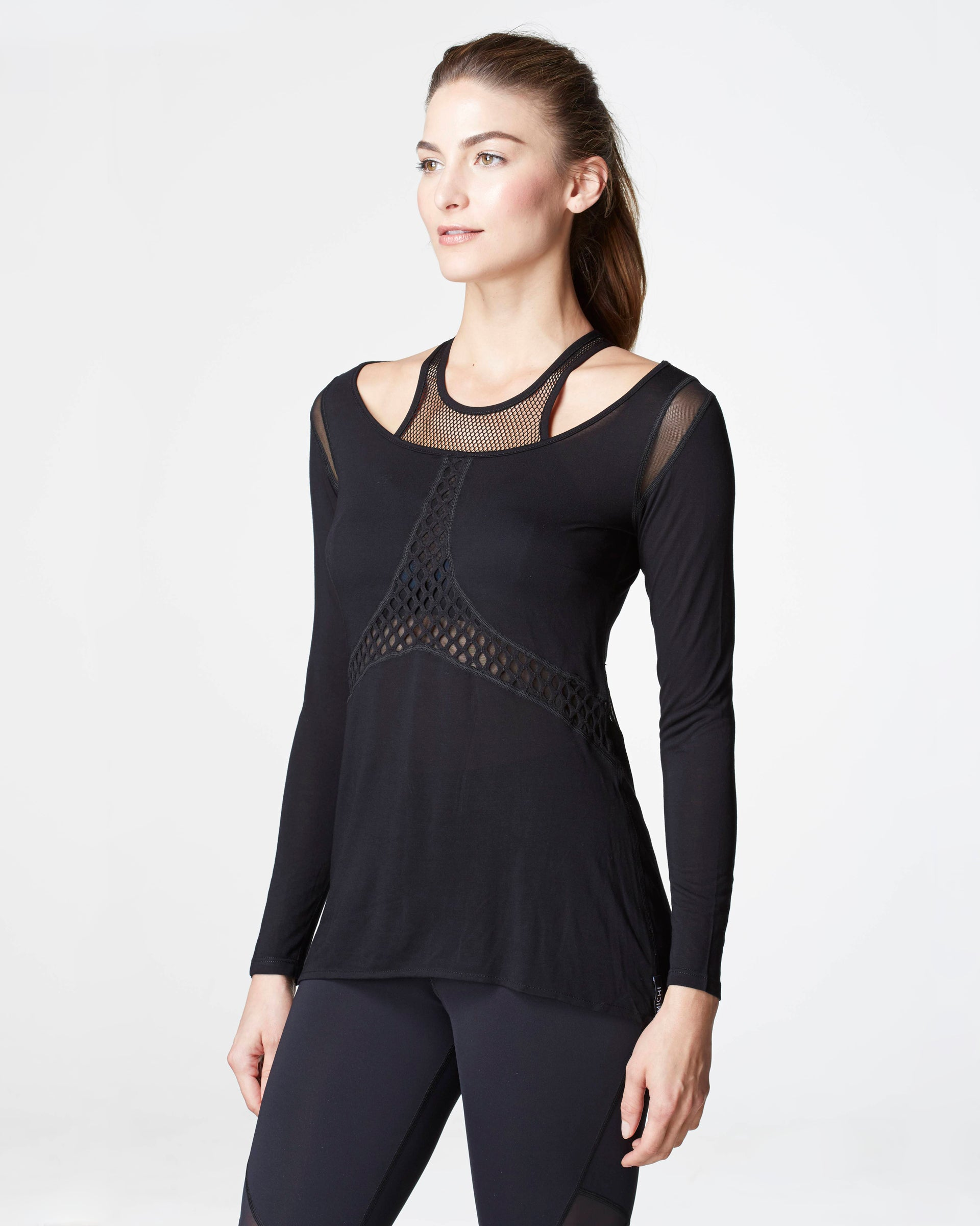 Sirena Top - Black