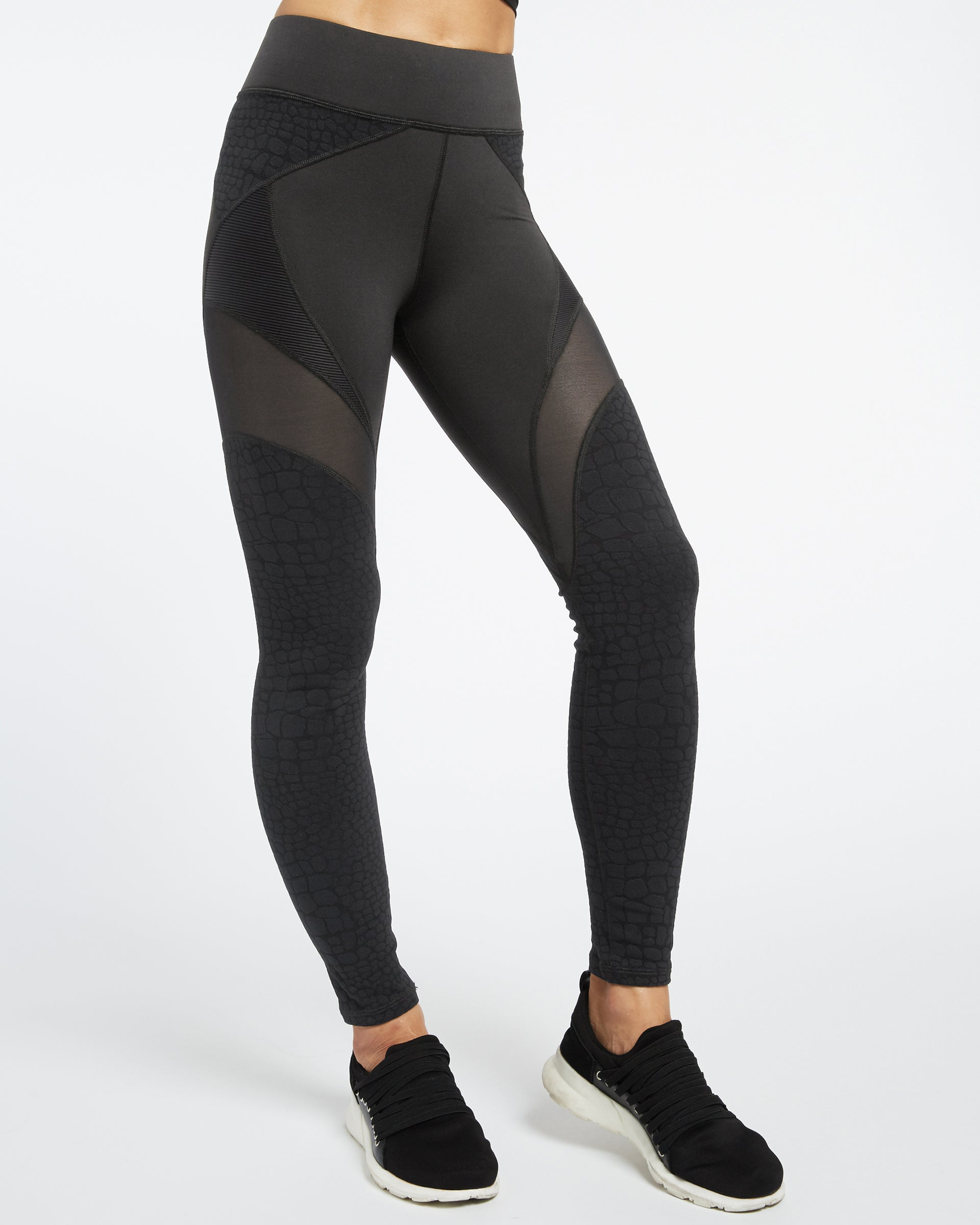 Mirage Legging - Black Croc