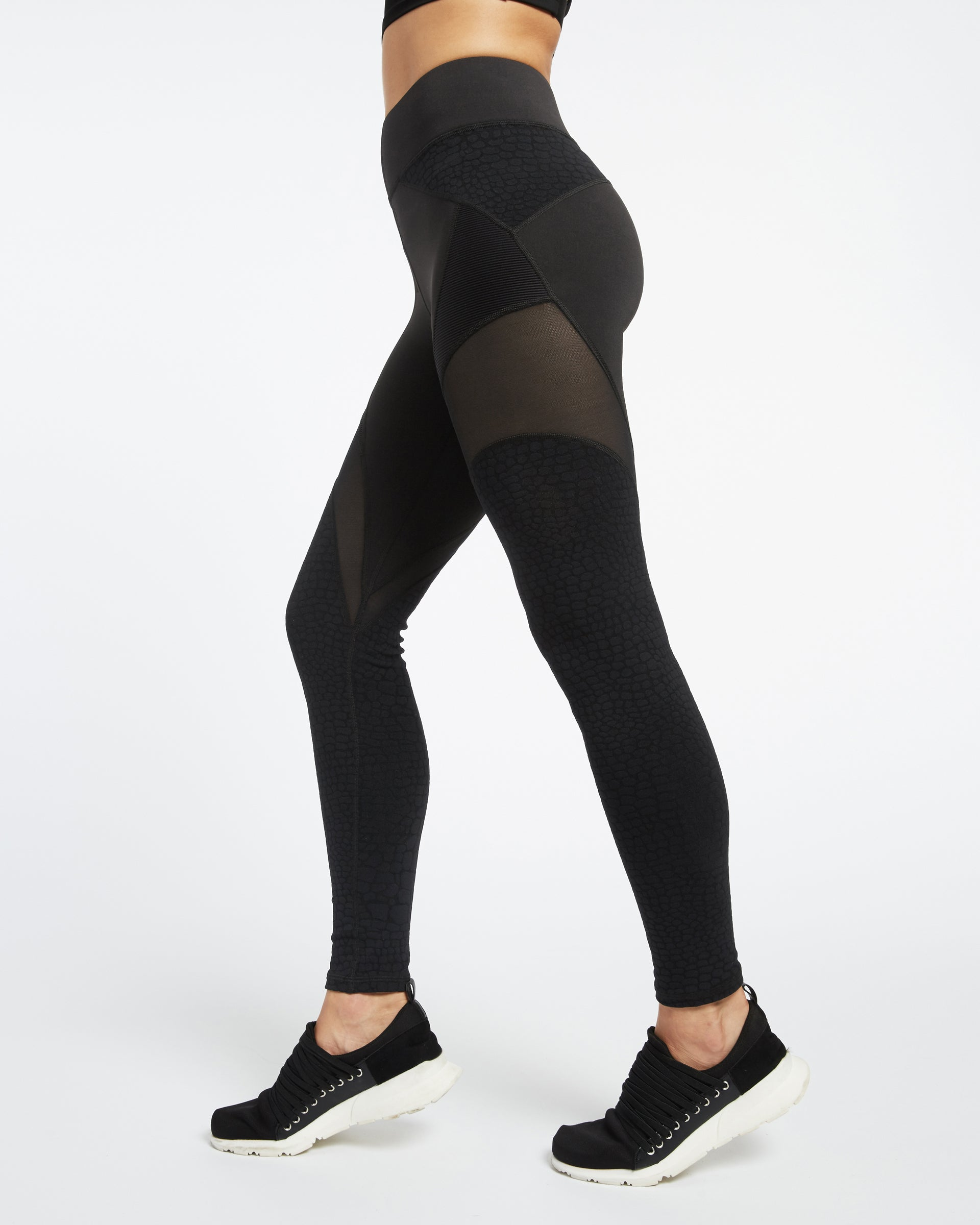 Mirage Legging - Black Croc / Black