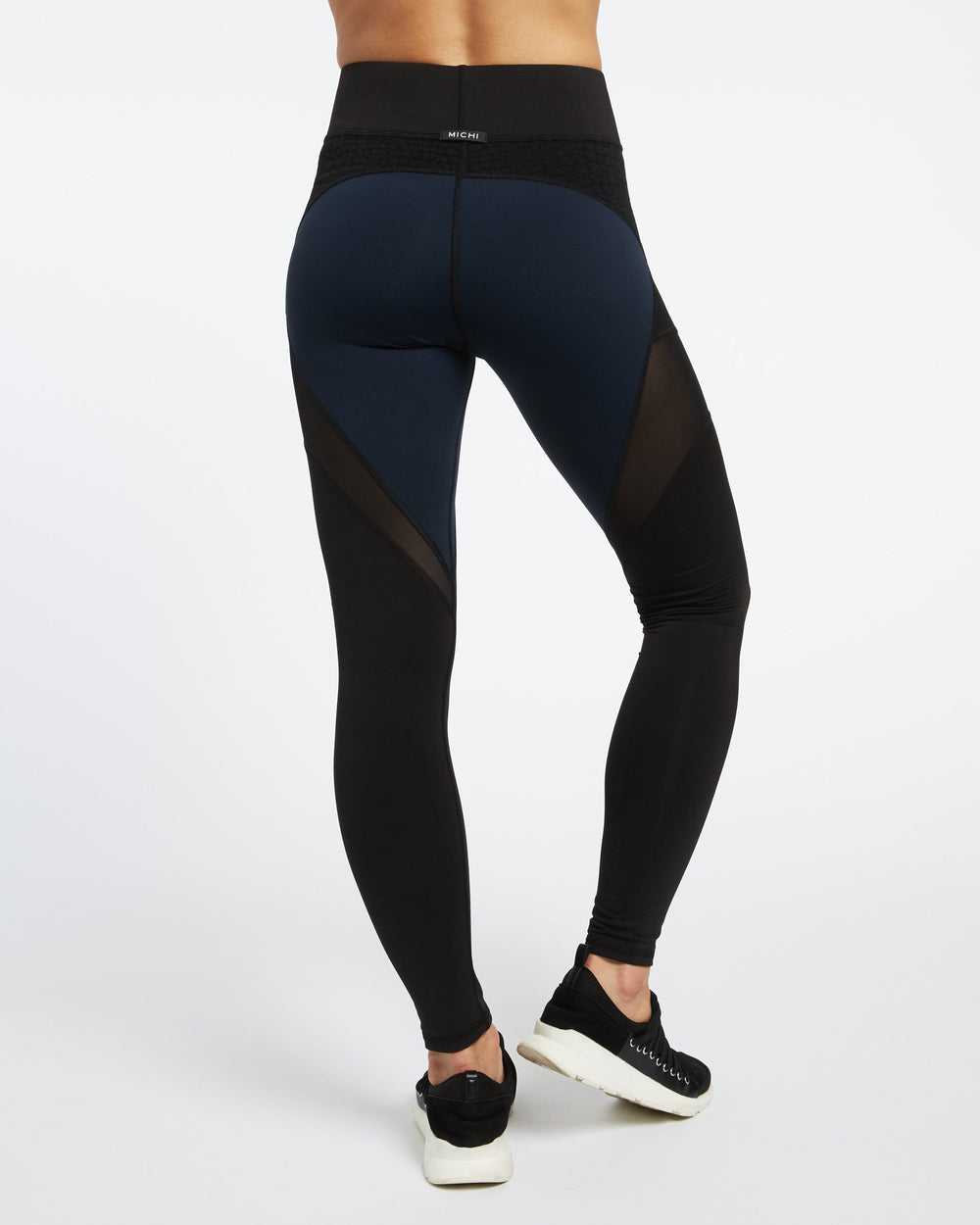 Mirage Legging - Deep Sea Navy / Black
