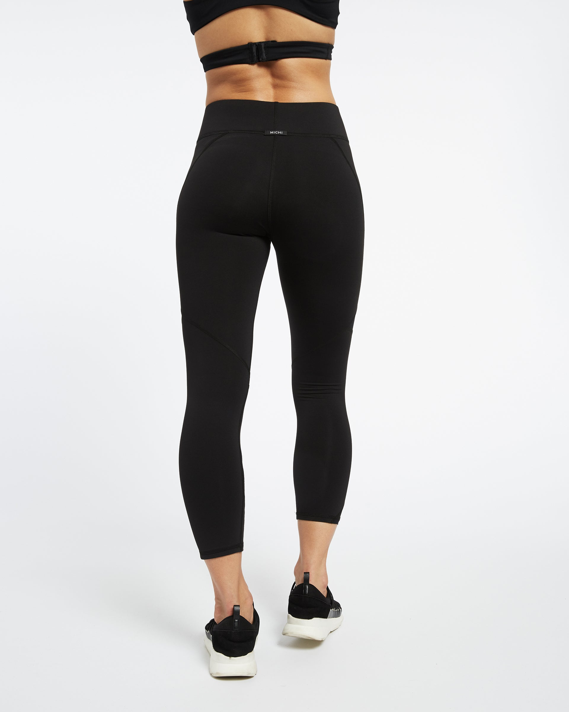 Radiate Crop Legging - Black