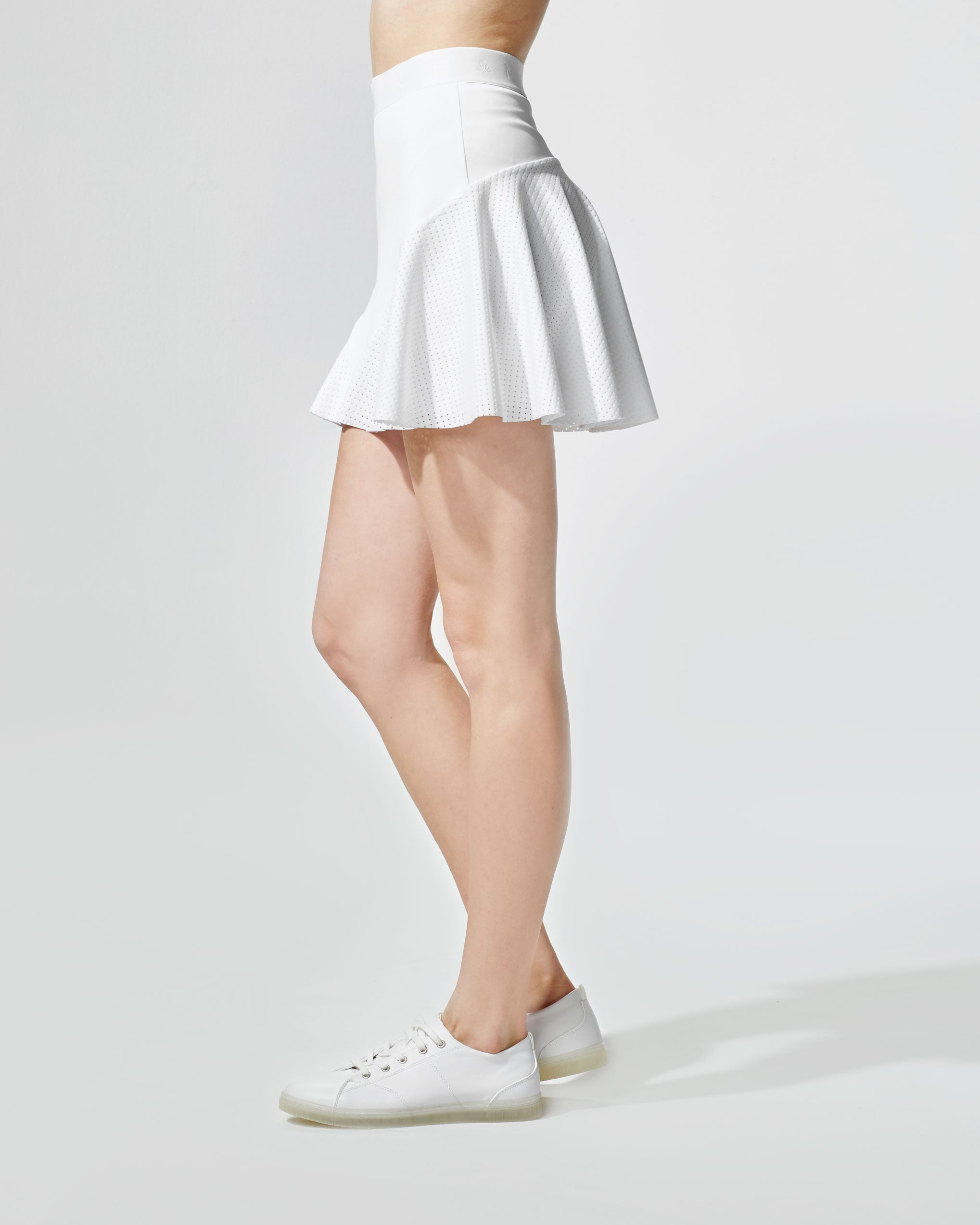 Match Skirt - White