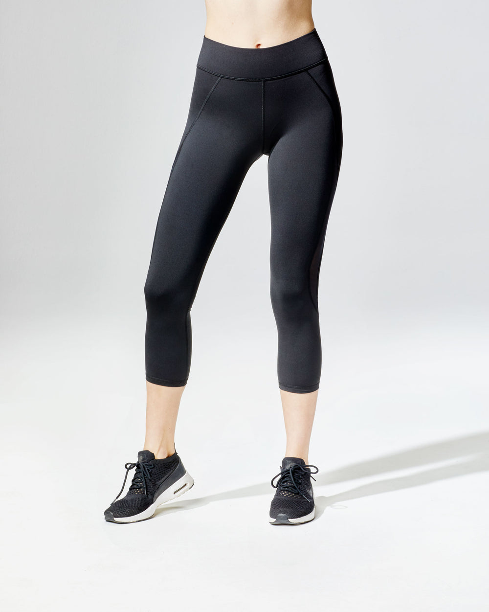 Medusa Crop Legging - Black