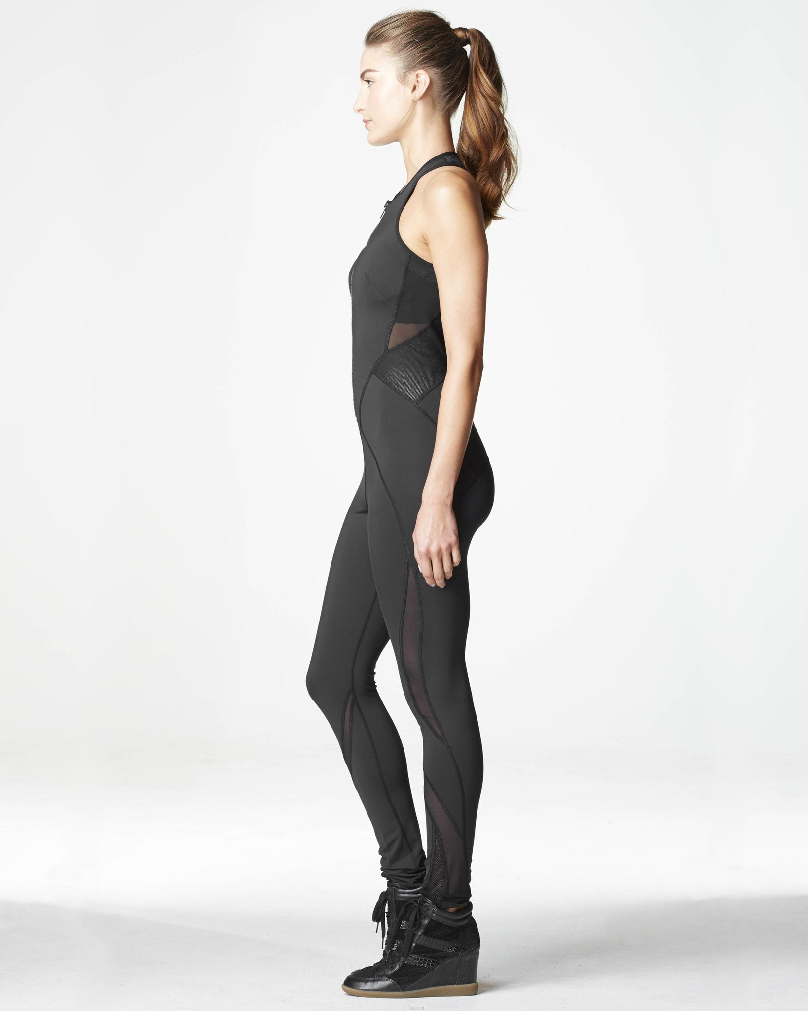 Medusa Jumpsuit - Black