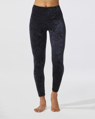Mercury Velvet Legging - Black
