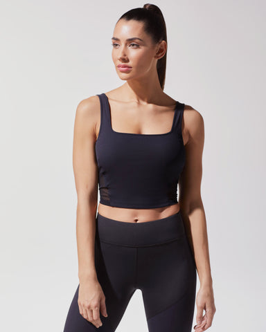Cadence Crop Top - Black