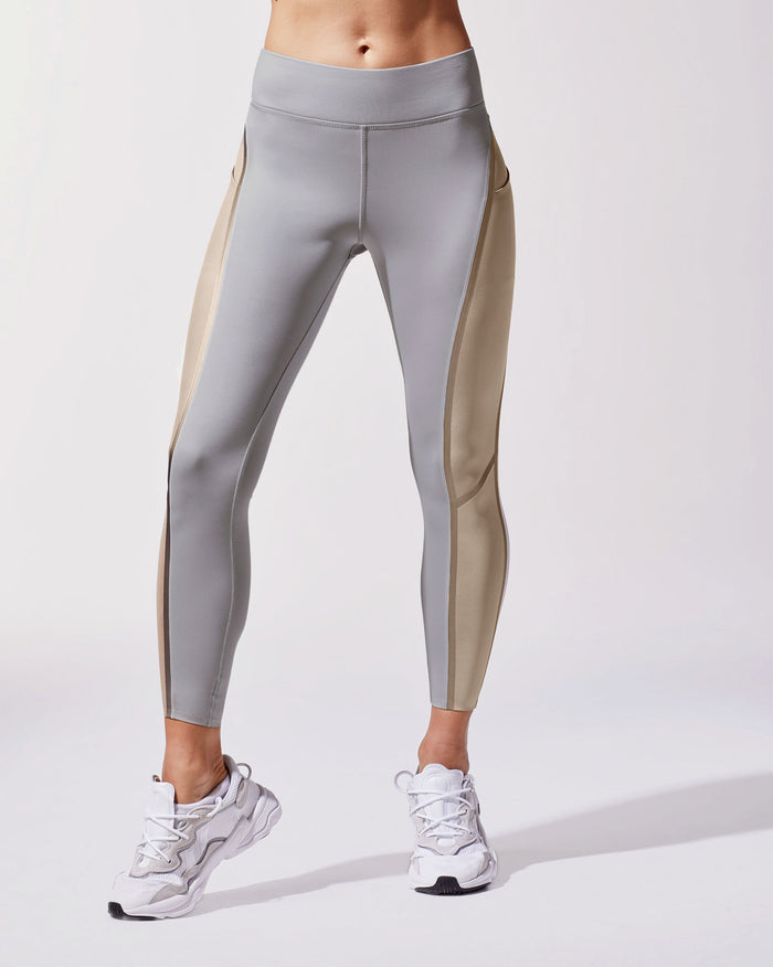 Linear Legging - Golden/Platinum