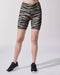 Instinct Tiger Print Bike Short - Desert Sand