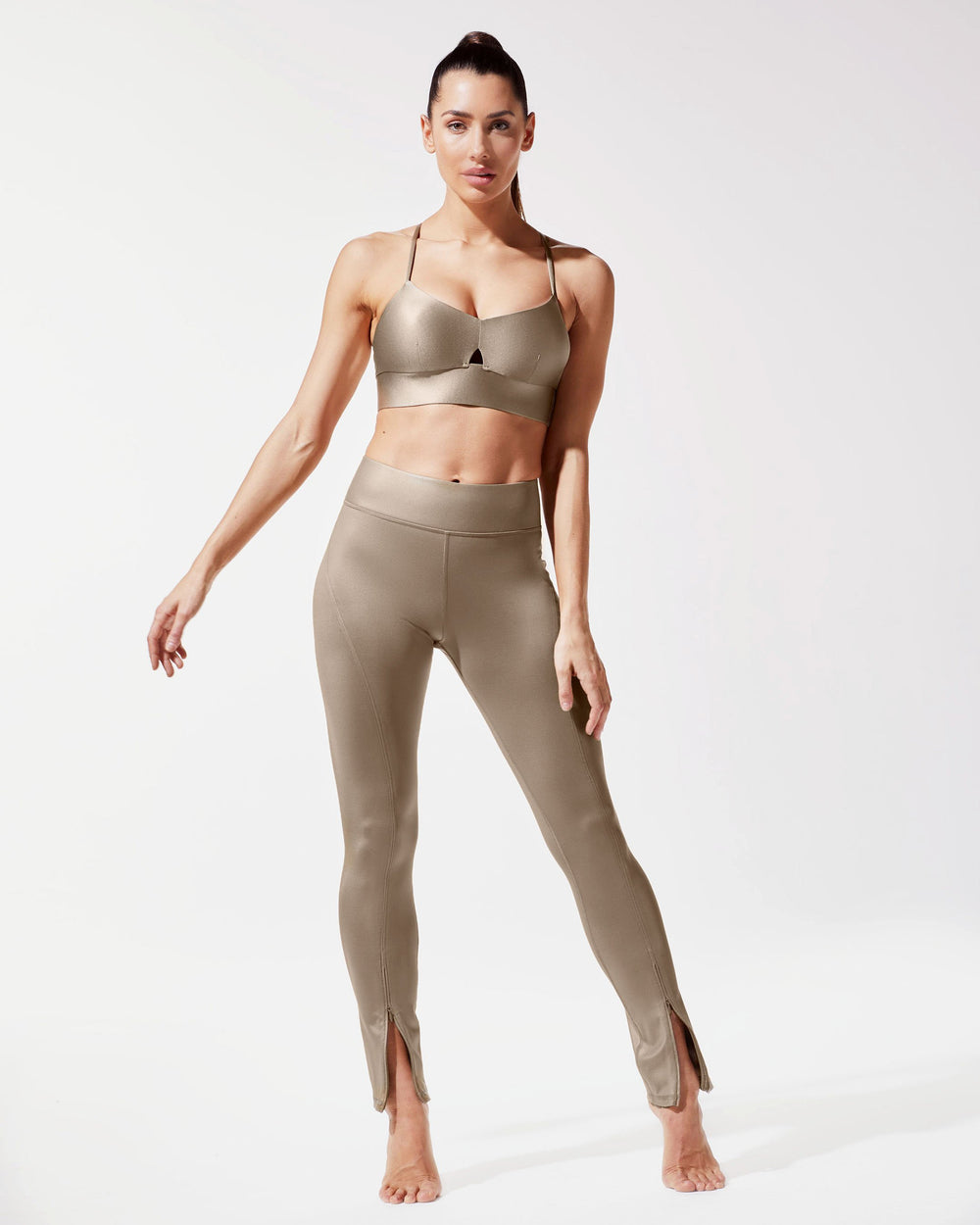 Splice Legging - Golden