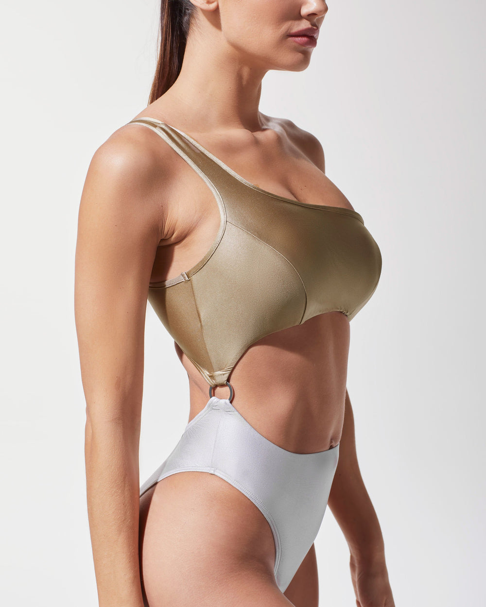 Hydra Bathing Suit - Golden/Platinum