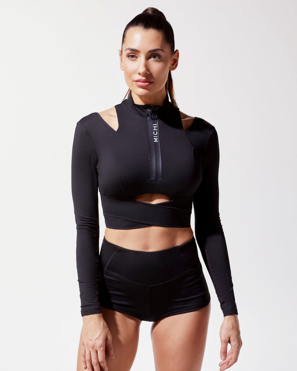 Freedive Crop Top - Black