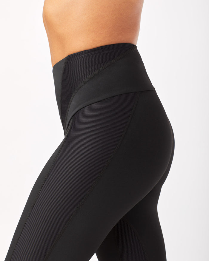 Midnight High Waisted Legging - Black