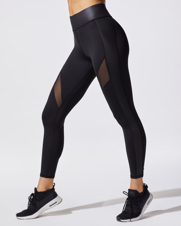 Mist Legging - Liquid Black