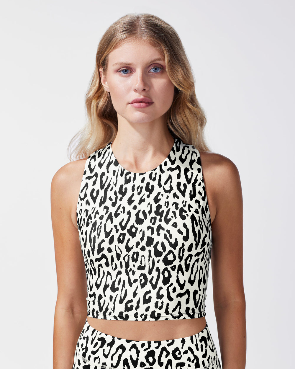 Mystic Print Bustier - Ivory Leopard