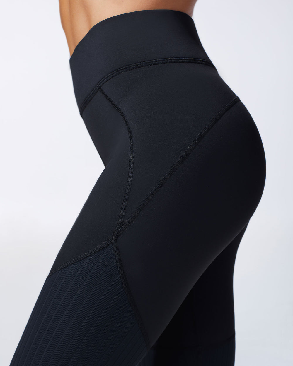 Mystic Ribbed Legging - Black