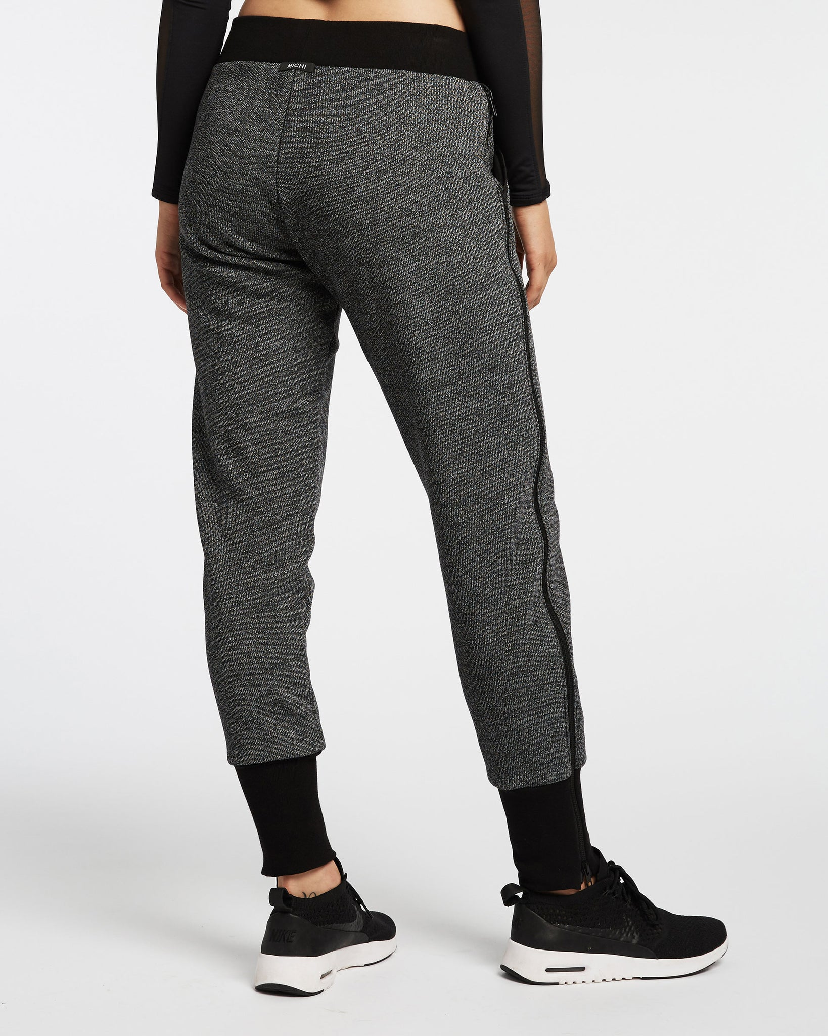 Nebula Sweatpant - Black Speckle
