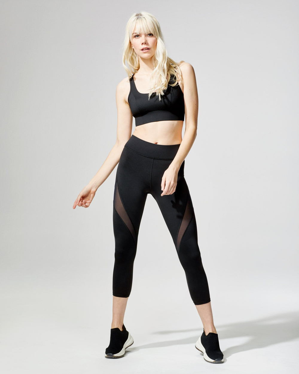 Power Longline Bra - Black