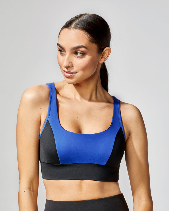 Power Bra - Royal Blue/Black