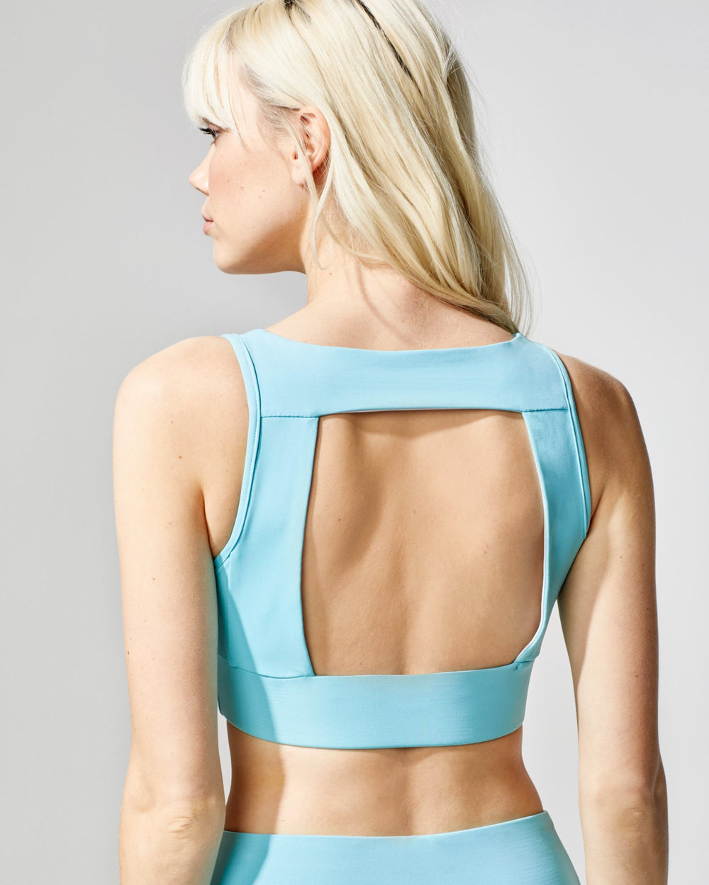 Power Bra - Island Blue