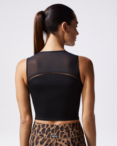 Primal Crop Top - Black