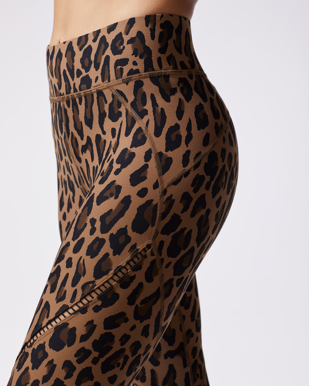 Primal Leopard Print Legging - Brown