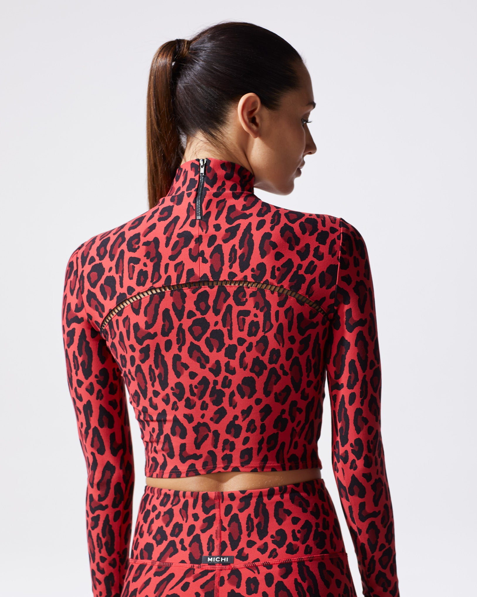 Primal Long Sleeve - Red Leopard