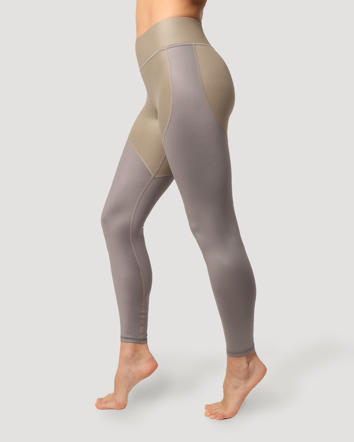 Cadence Legging - Golden/Platinum