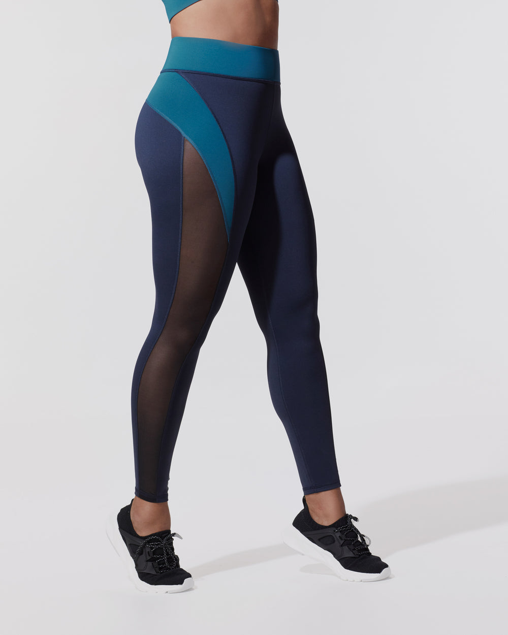 Raven Legging - Deep Sea Navy/Lagoon