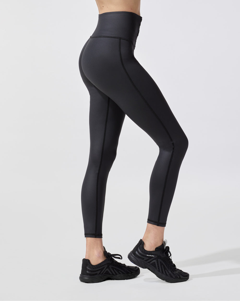 Rebel Gloss Legging - Black