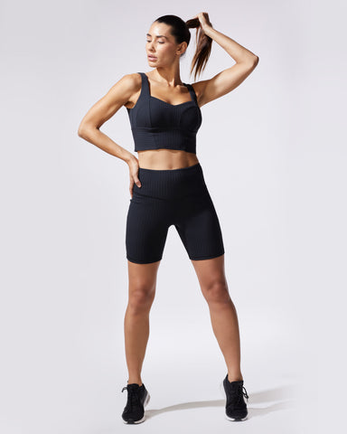 Reflex Bike Short - Black Rib