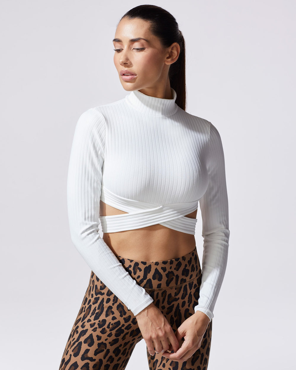 Reflex Ribbed Top - Ivory
