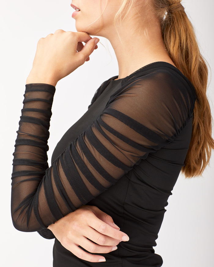 Ripple Top - Black
