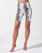 Instinct Python Print Bike Short - Ivory