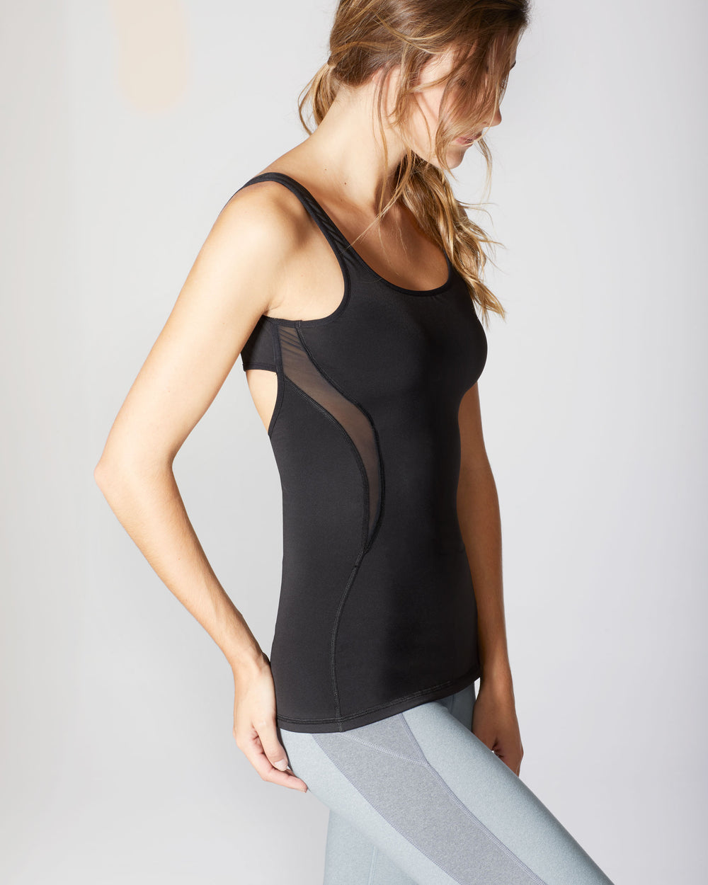 Serpentine Tank - Black
