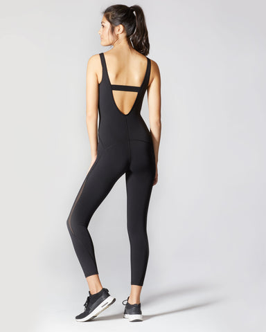 Serpentine Jumpsuit - Black
