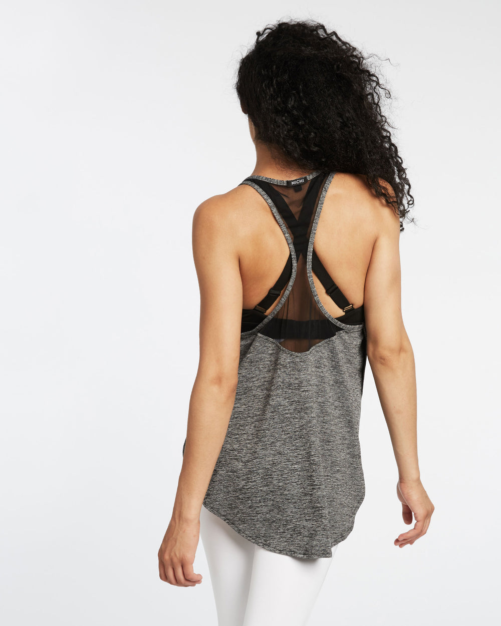Shadow Tank - Heather Grey