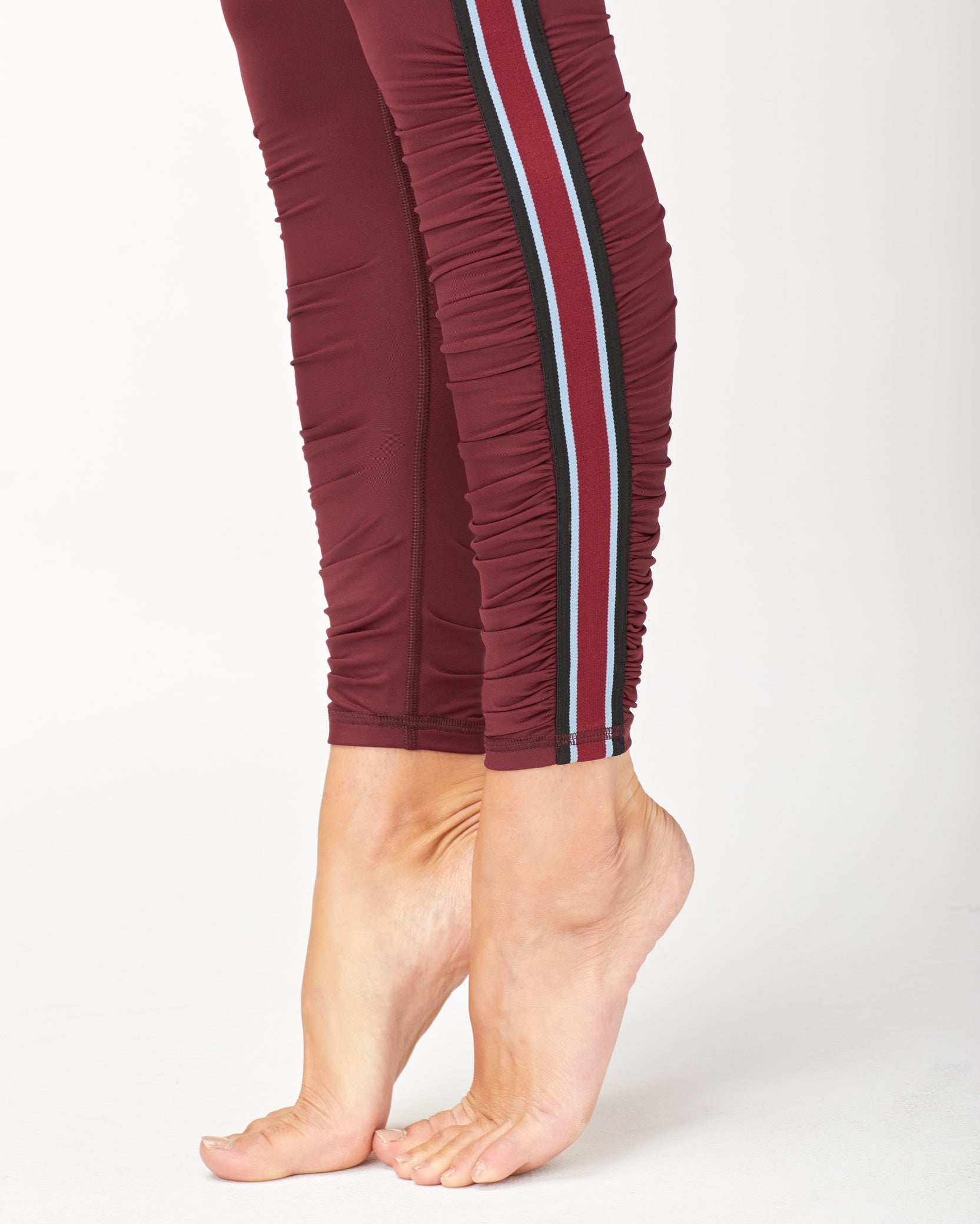 Speed High Waisted Legging - Wine
