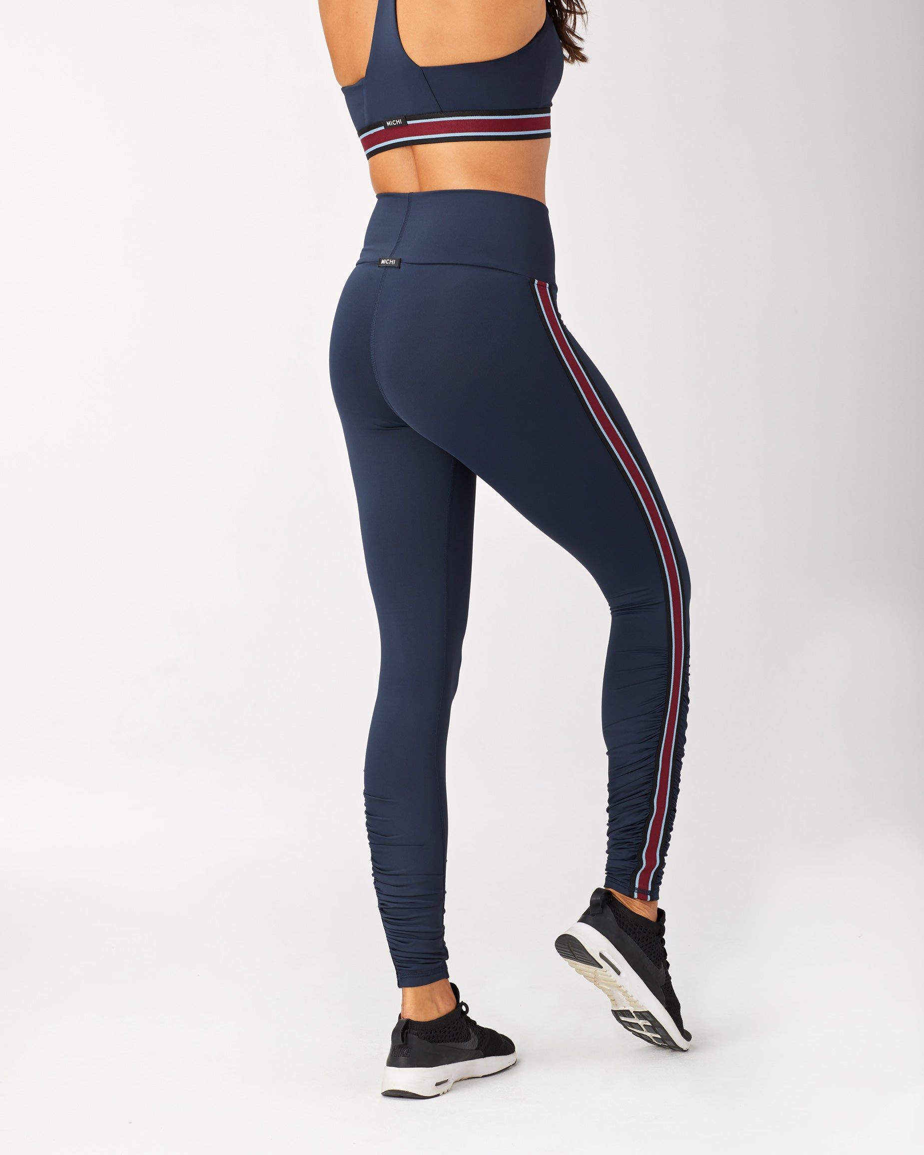 Speed High Waisted Legging - Deep Sea Navy