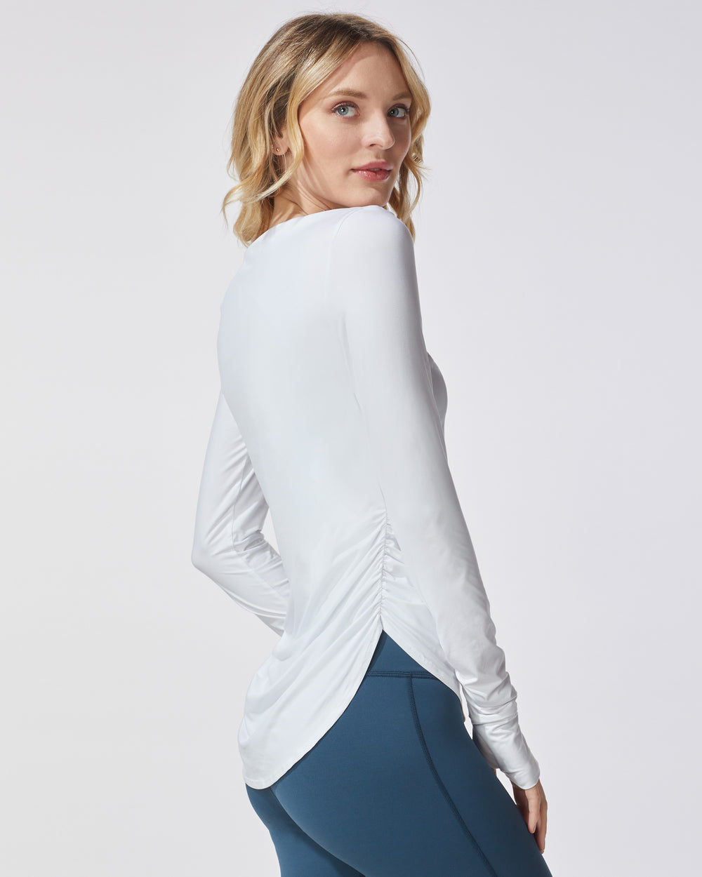 Splice Running Top - White