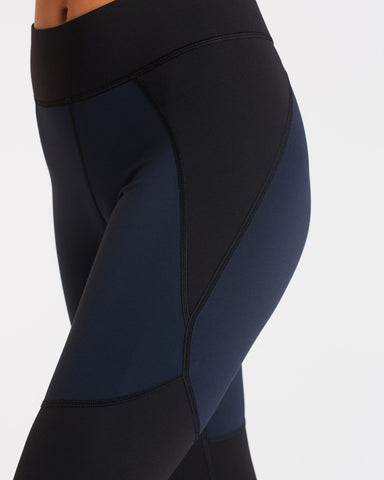 Tidal Legging - Navy/Black