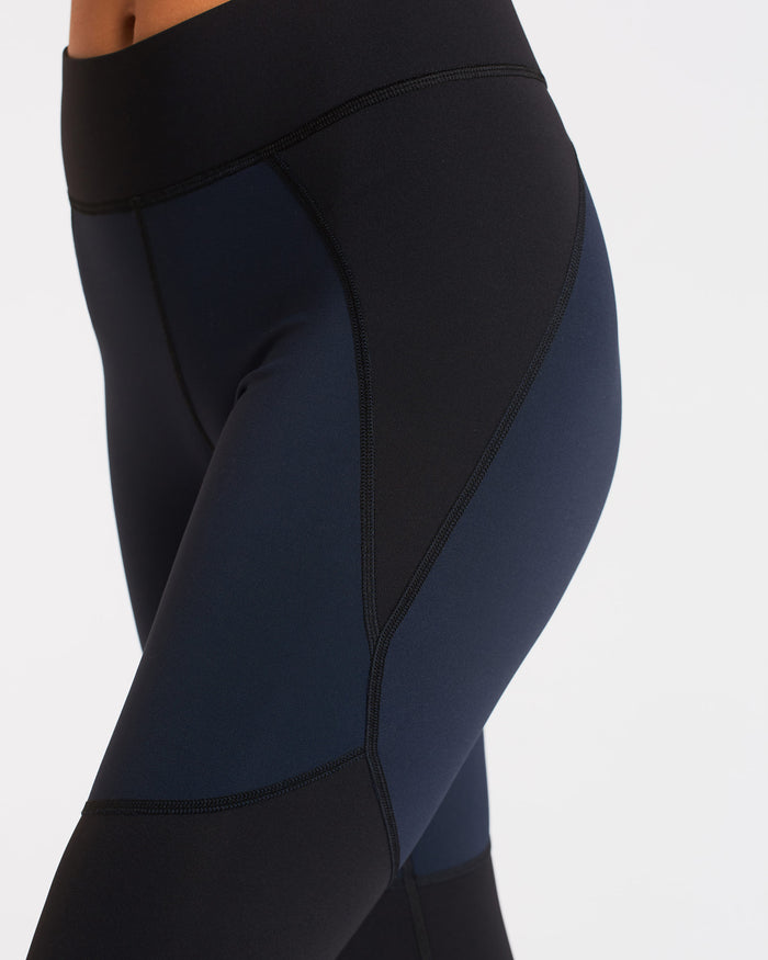 Tidal Legging - Deep Sea Navy/Black