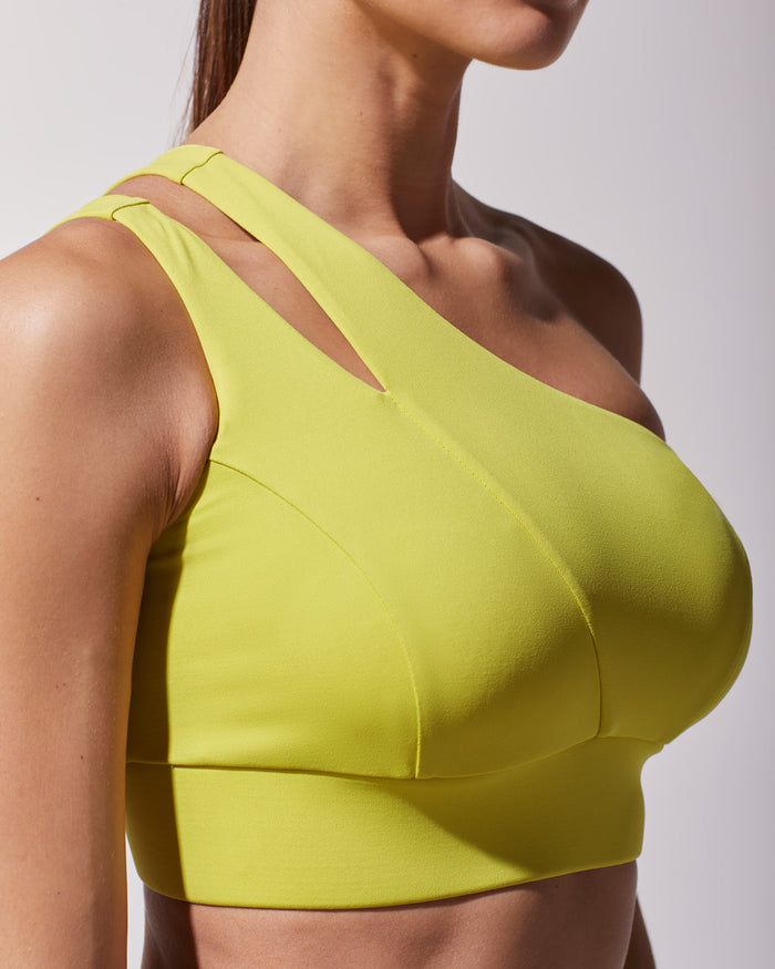 Tigress Bra - Acid Yellow