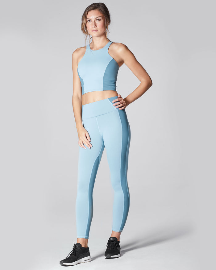 Vibe High Waisted Legging - Sky