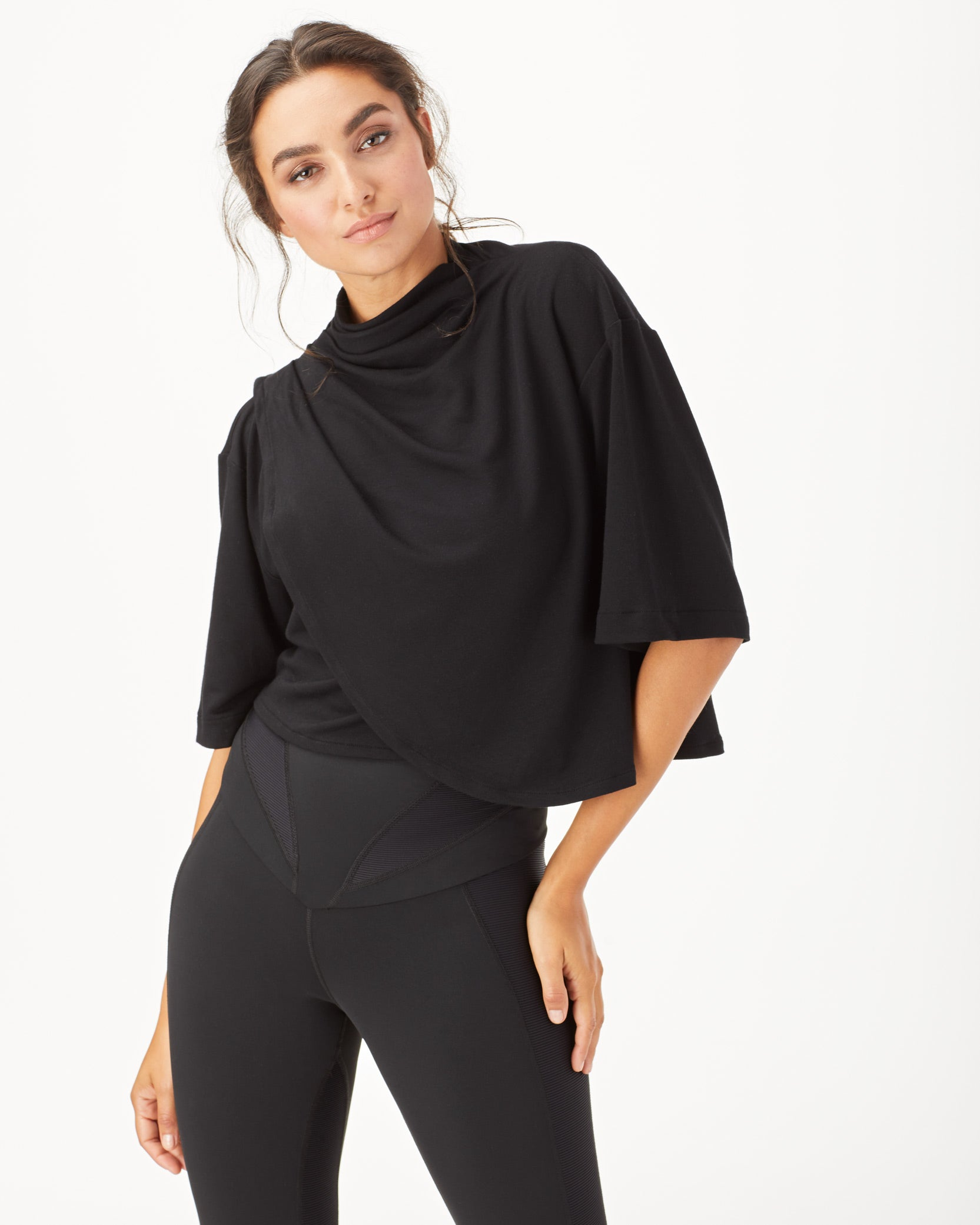 Voyageur Crop Top - Black