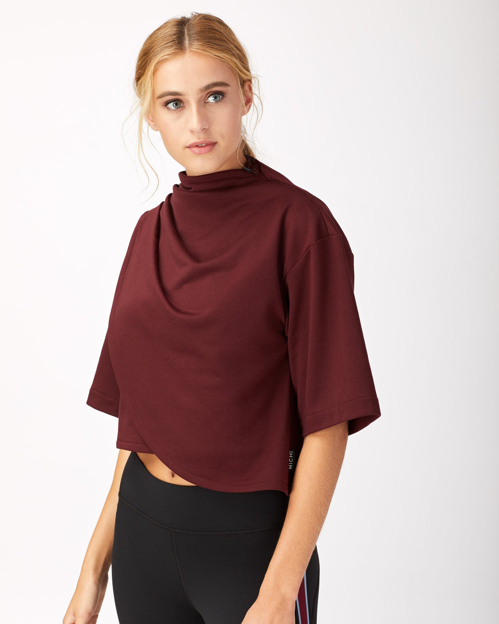 Voyageur Crop Top - Wine