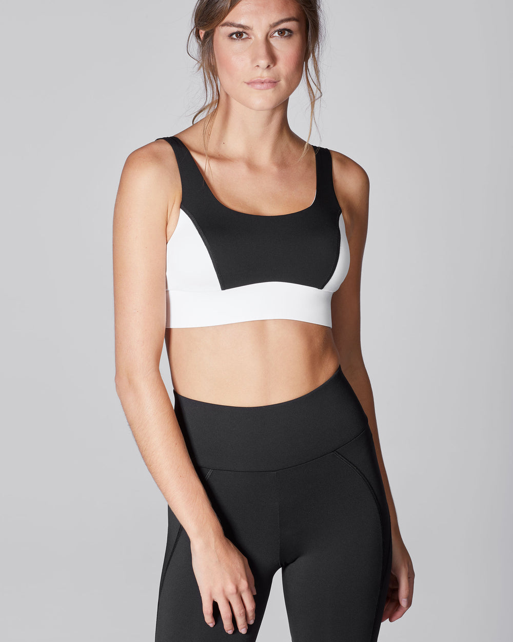 Wave Bra - Black/White
