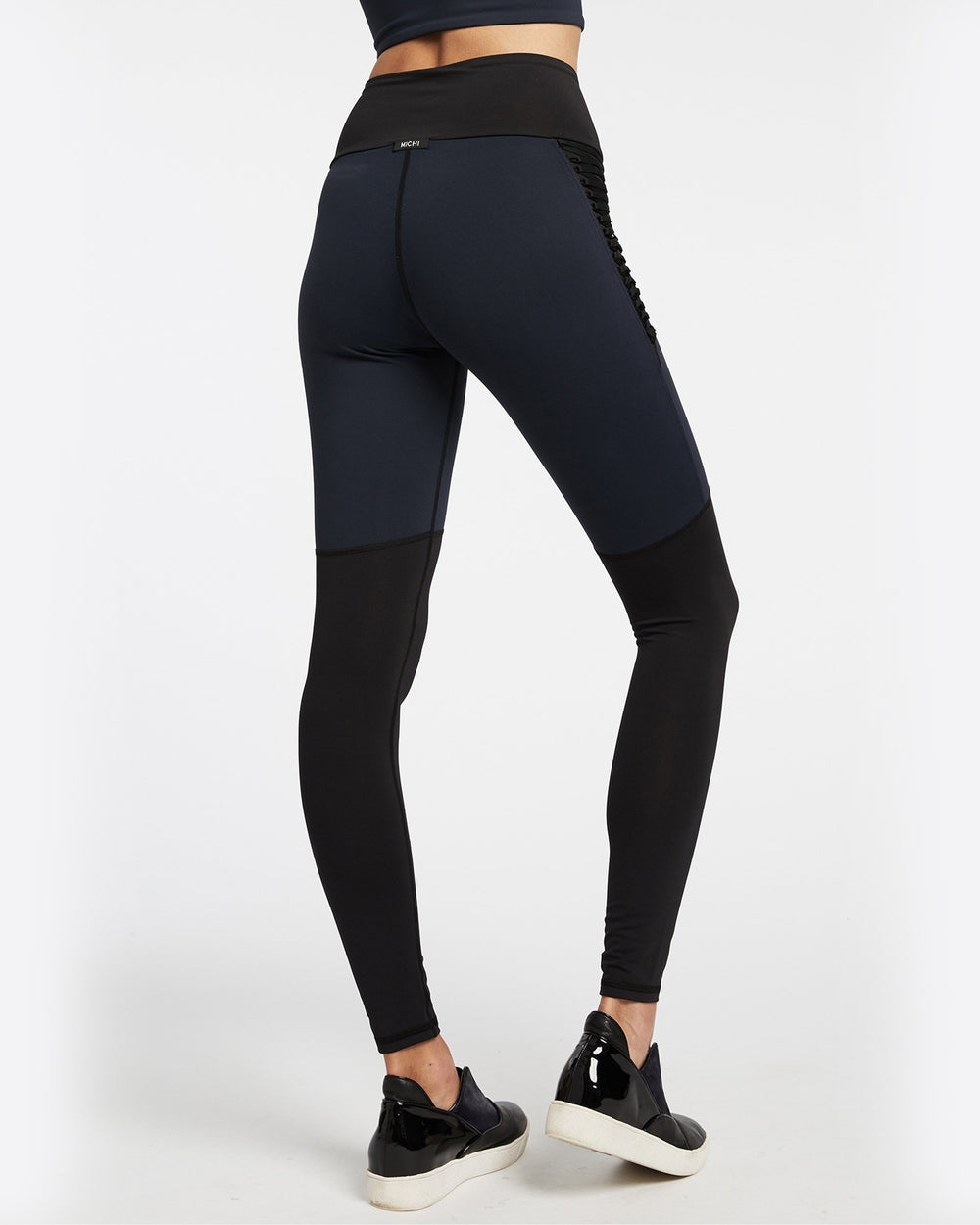 Alchemy High Waisted Legging - Deep Sea Navy
