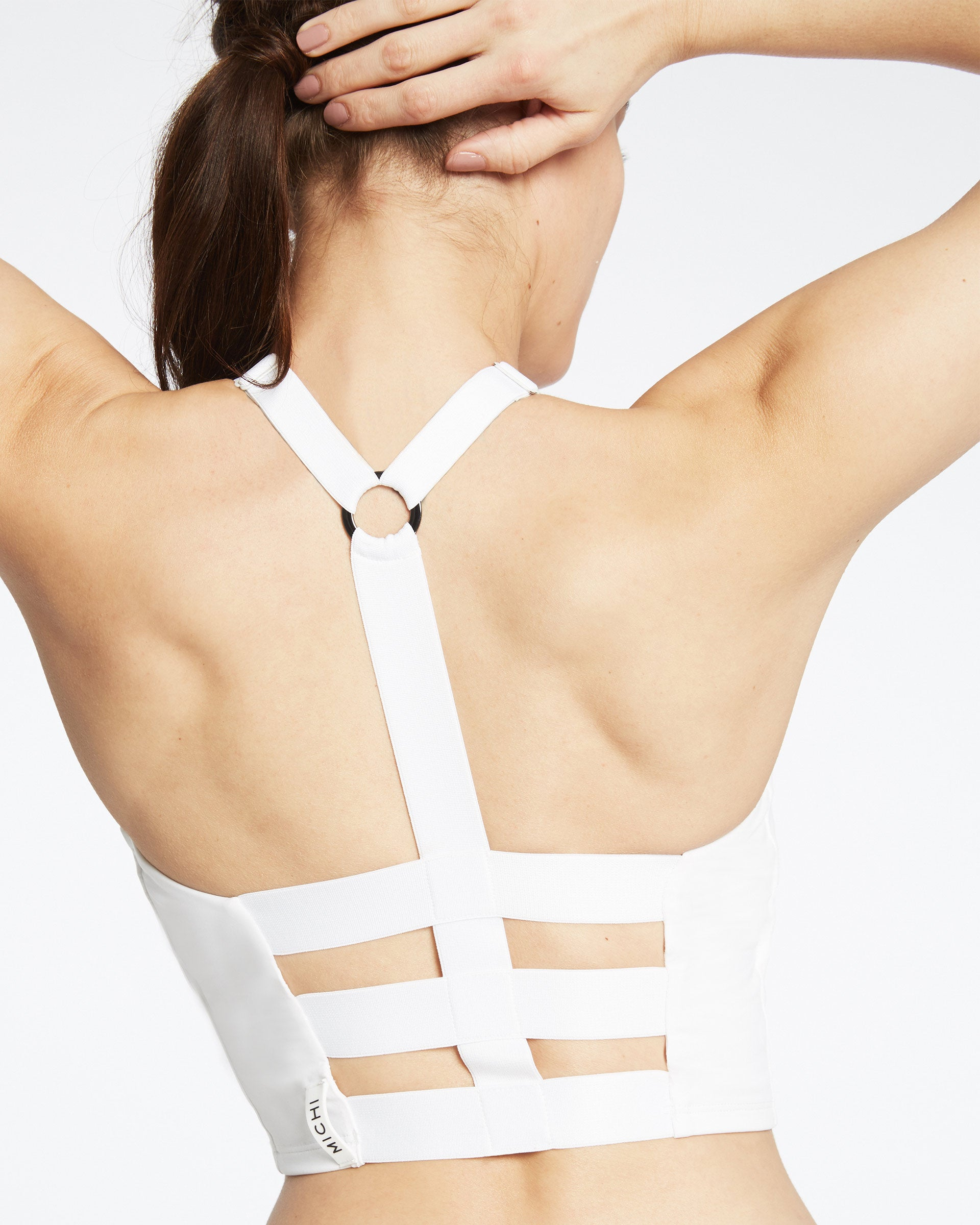 Axial Bustier - White
