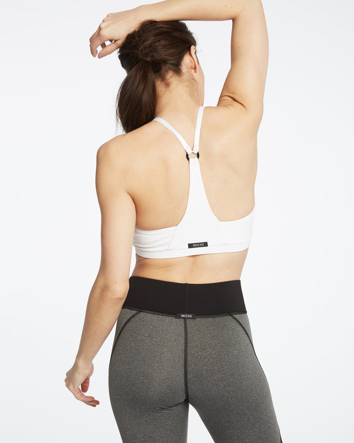 Barre Bra - White