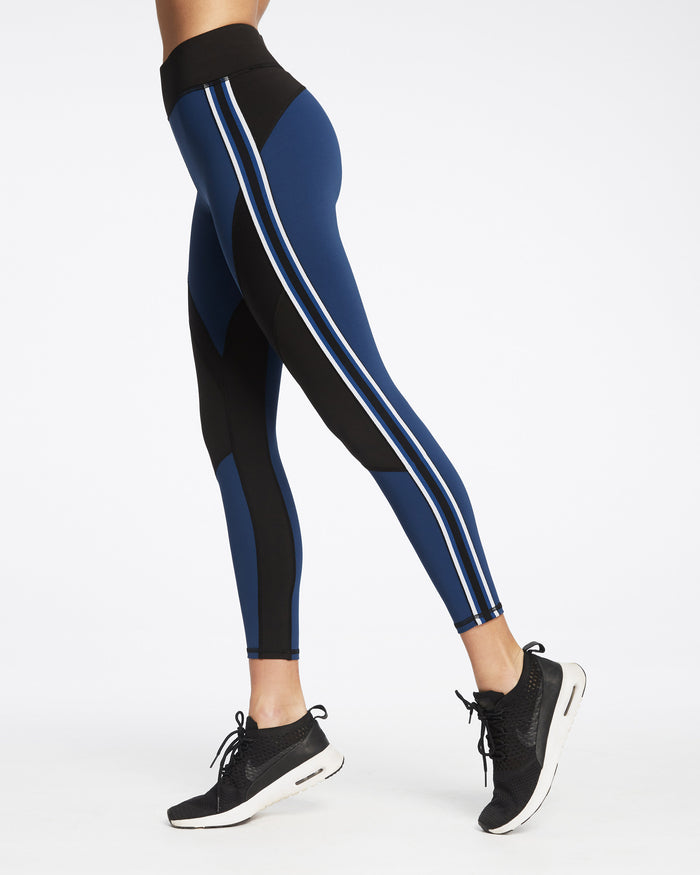 Detour Legging - Adriatic Blue/Black